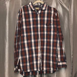 Men's Long Sleeve Button-Up Shirt